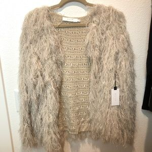 NWT ASTR The Label Shaggy Sweater